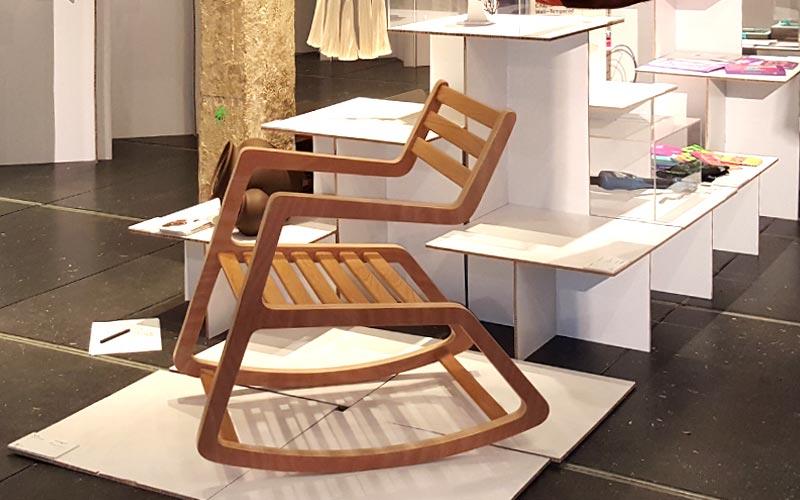 Vista de la silla Rita en la EXPO BID 2016
