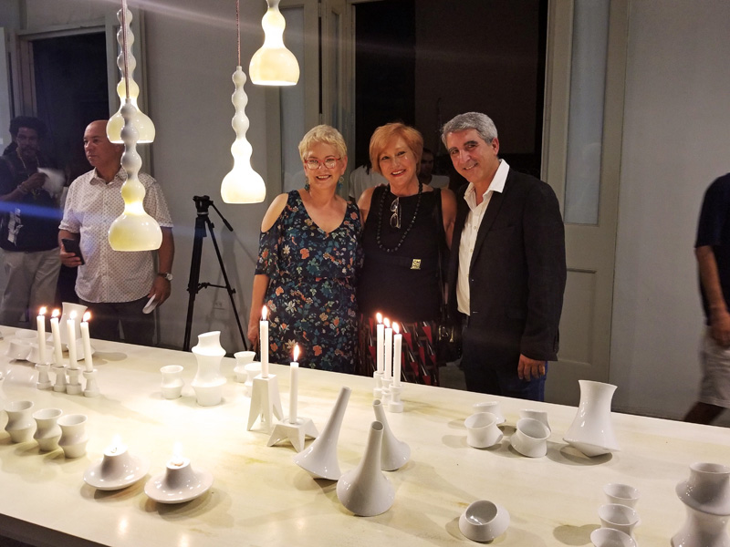 Visitantes en la EXPO