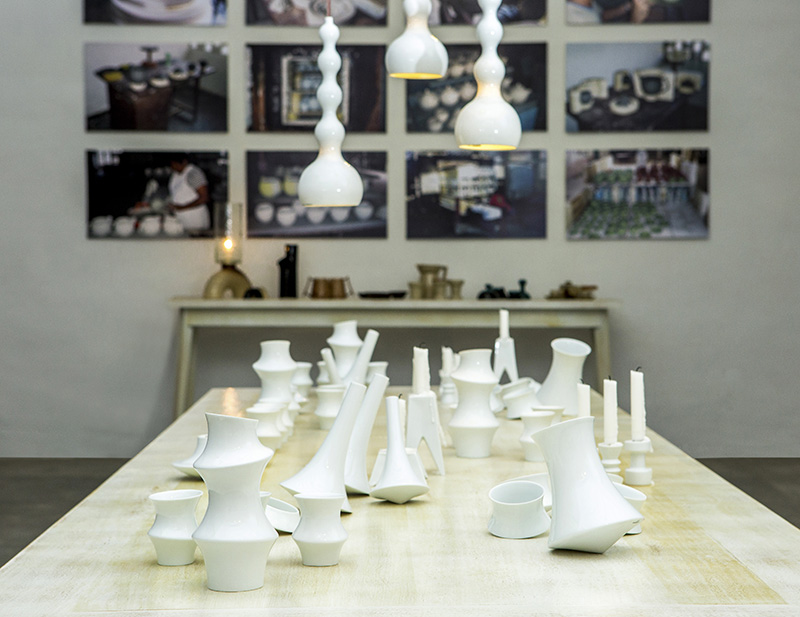 Conjunto cerámicas en la Expo Convergencias