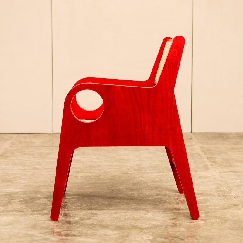 Butaca OK, Diseño Luis Ramírez