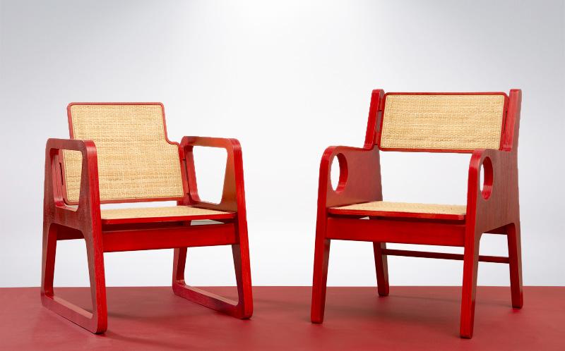 Butacas Roma y OK, Diseño Luis Ramírez