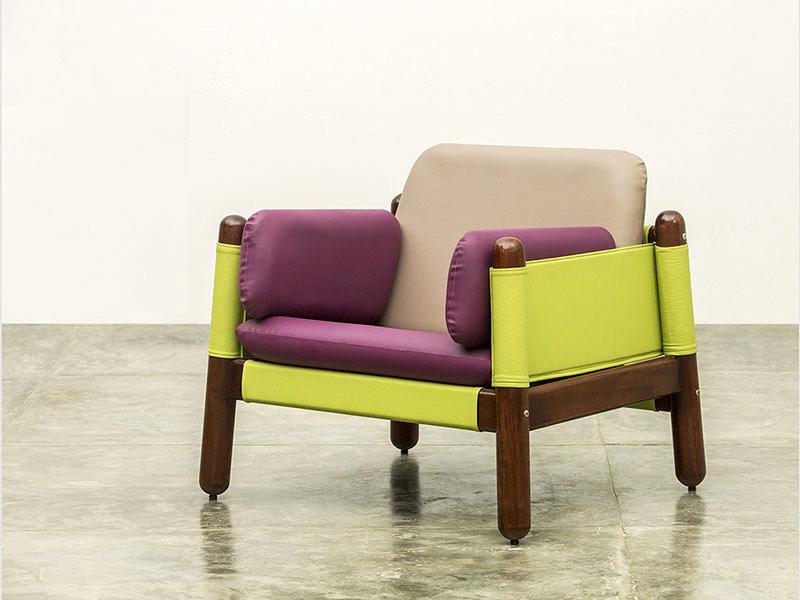 Butaca del Conjunto Happy Diseño Luis Ramírez