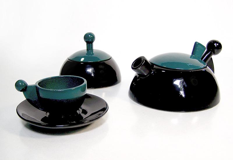 Conjunto para degustar café DeLuna Diseño Luis Ramírez