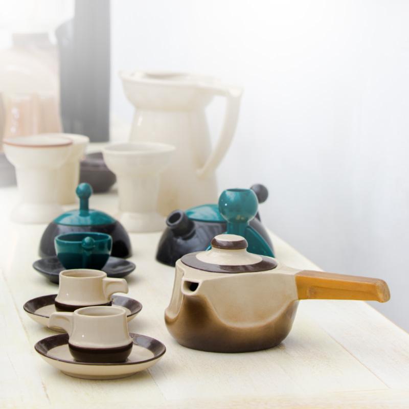Conjunto de porcelana Cuca Diseño Luis Ramírez